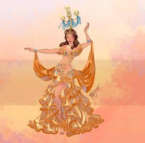 Disney Belly Dancers: Raqs Shamadan