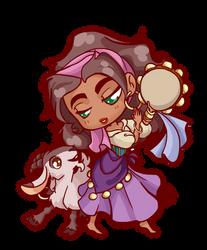 Chibi Commission_Esmeralda