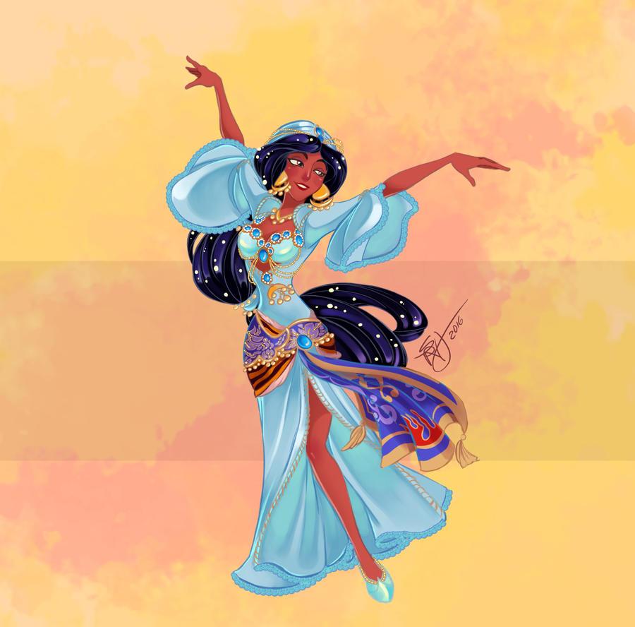 Disney Belly Dancers: Helwa Ya Baladi by Blatterbury
