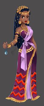 Commission_Zuri_Disney Character Design