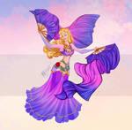 Disney Belly Dancers: Fan Veils