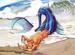 Art Trade_Mermaid!Snafu