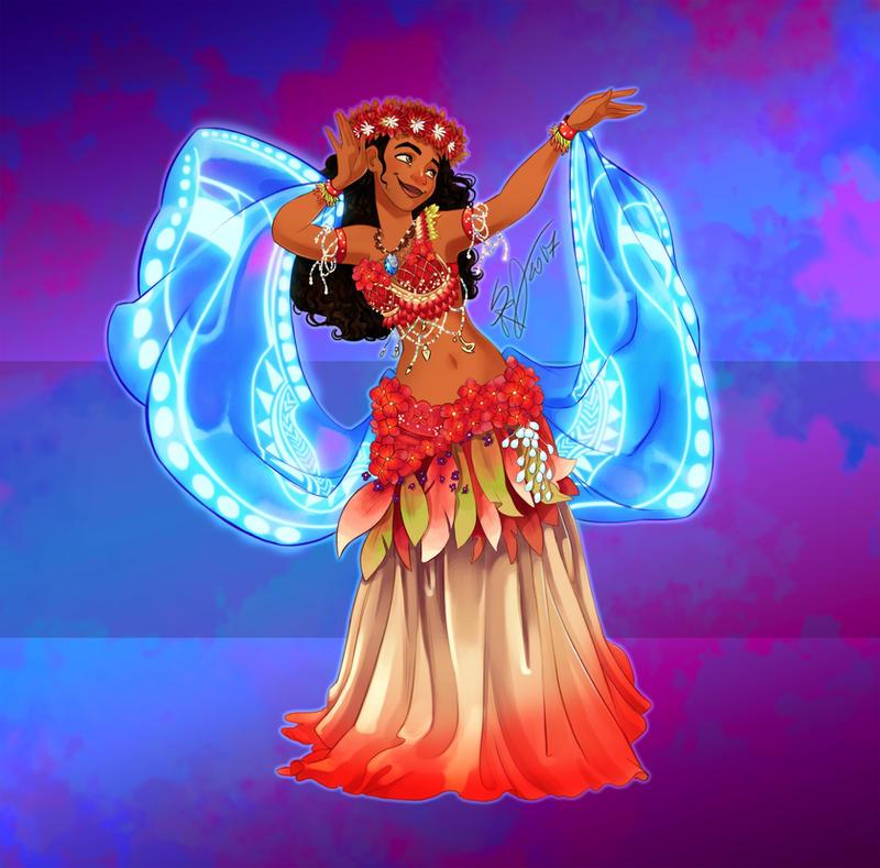 Disney Belly Dancers: How Far I'll go by Blatterbury
