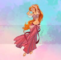 Disney Belly Dancers: Giselle