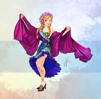 Disney Belly Dancers: Melaya Leff by Blatterbury