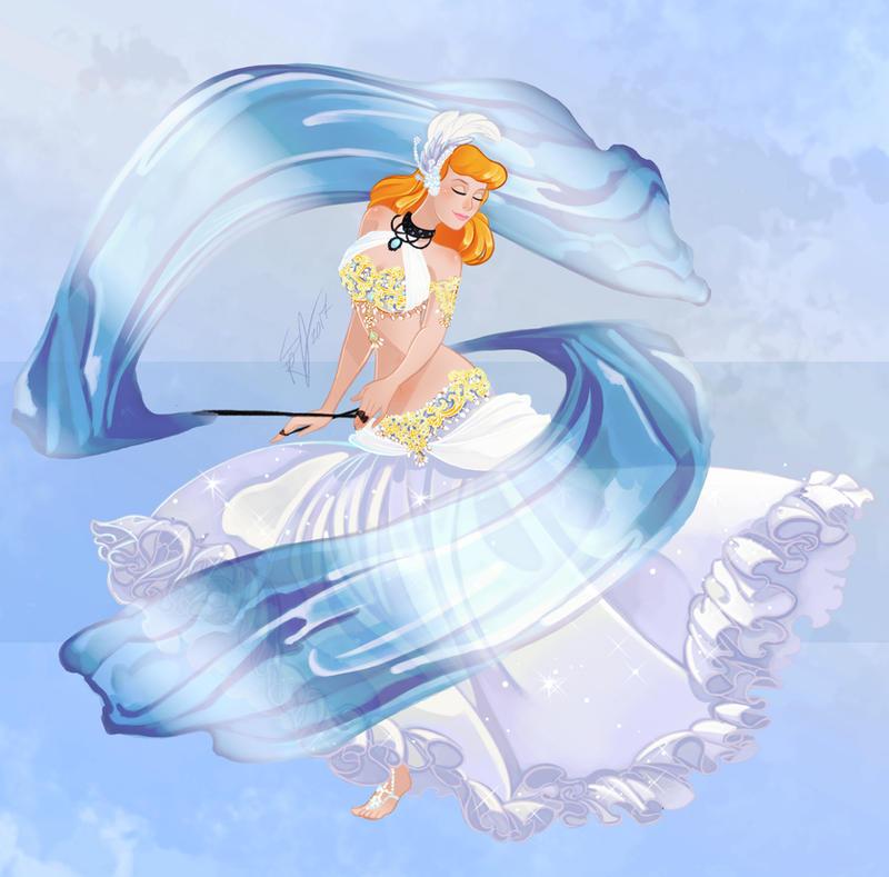 Disney Belly Dancers: Veil Poi by Blatterbury