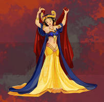 Disney Belly Dancers: Golden Age by Blatterbury