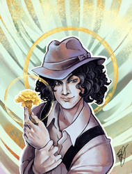 Commission: Jack White by Blatterbury