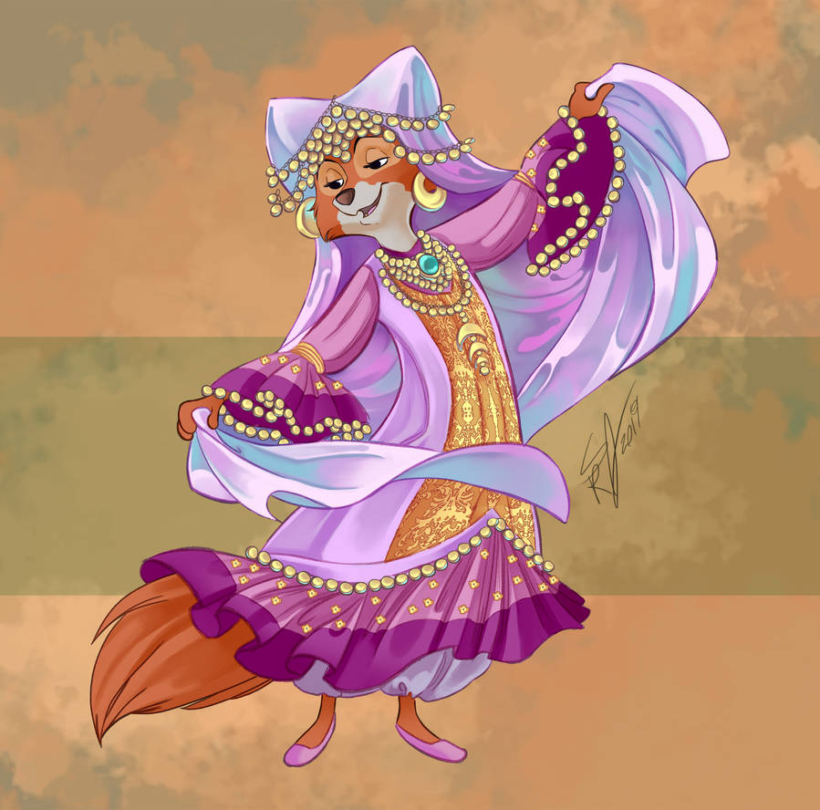 Disney Bellydancer: Nubian Dance by Blatterbury