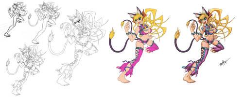 Demon Cat Girl WTF Steps
