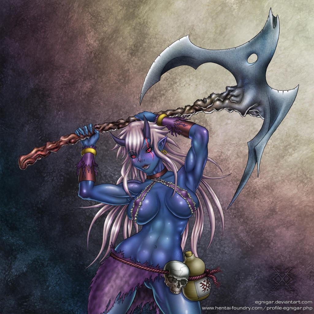 Random Oni by egnigar