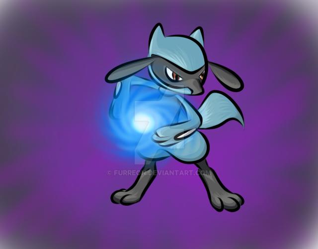 Lucario aura sphere