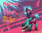 [C] MAC-10 Neon Rider Pony (CS:GO)