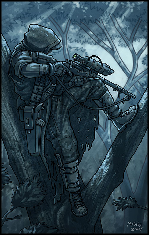 Tacterrian sniper by mcgibs on deviantart - Anime sniper girl ...