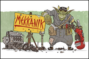 Mekkanik by McGibs