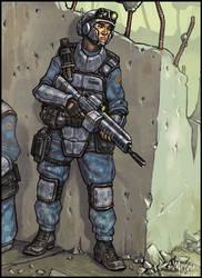 Tomorrow's War: Line Infantry by McGibs
