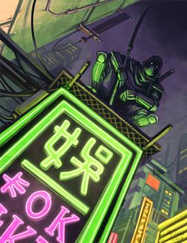 A Fistful of Kung Fu: Neon Ninja