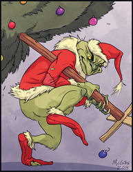 Grinch by McGibs