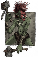 Forest Troll by McGibs