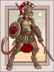 Spear Cat by McGibs