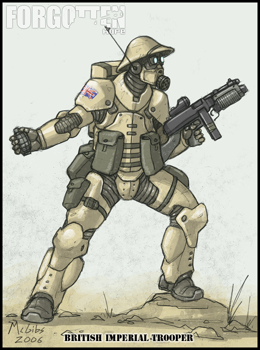 Brittish Assualt Trooper by McGibs