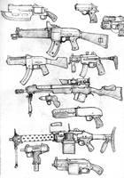 Guns by McGibs