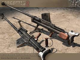 Boys Anti-Tank Rifle by McGibs