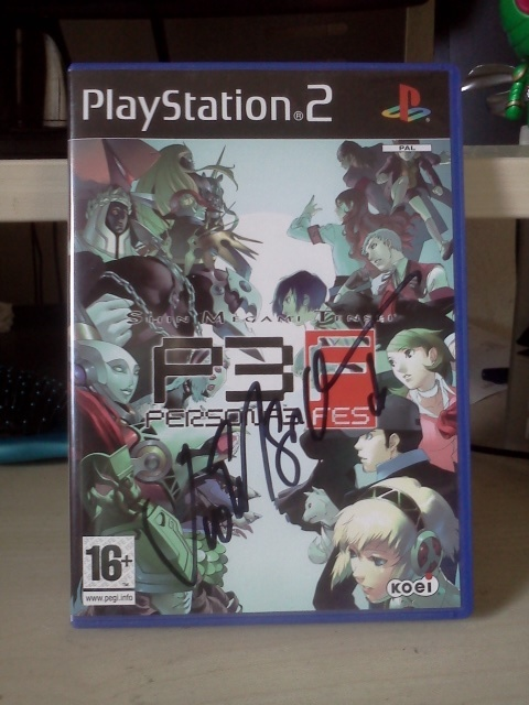 Vic Mignogna signed P3 FES by stalydan