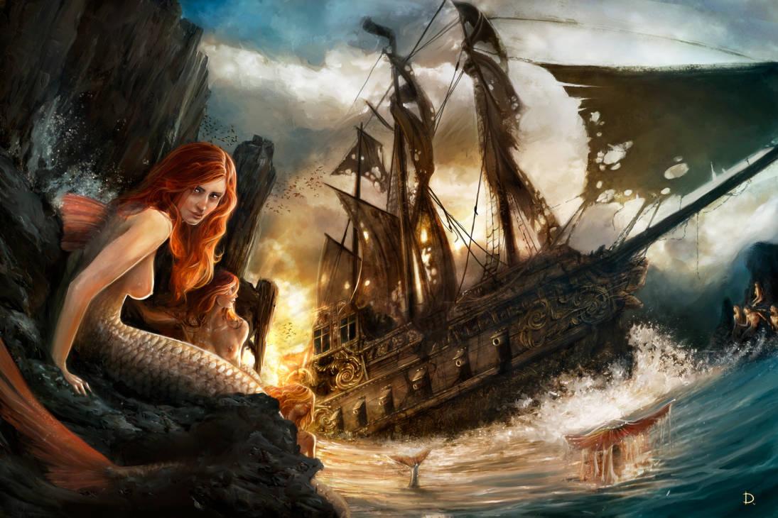 Mermaids atoll - The lost ship