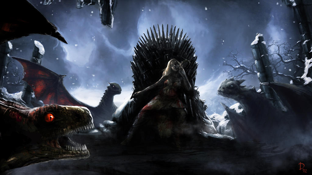 Game Of Thrones - Daenerys Targaryen by DaniNaimare