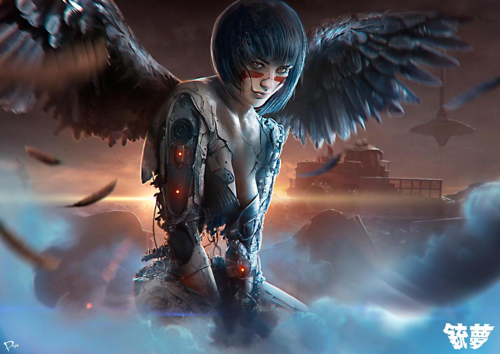 Alita Battle Angel >> Gunnm by DaniNaimare on DeviantArt