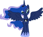 Princess Luna S2 Finale Vector