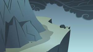 Dragonshy Mountain Background