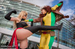 Rogue VS Ms Marvel: Greatest Battles by EccentricCasey