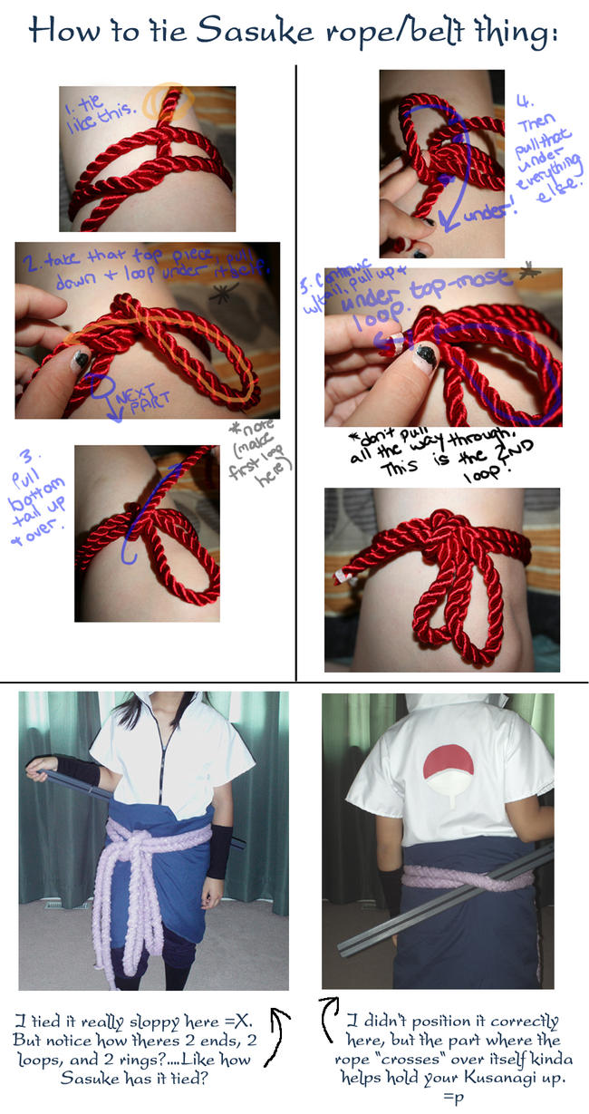 How to tie Sasuke rope by BloodOfUchiha