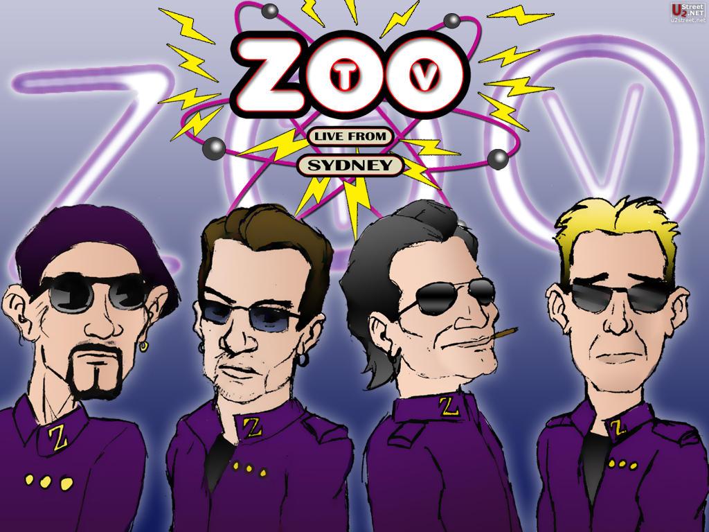 U2 Zoo TV Wallpaper by MisterMacPhisto