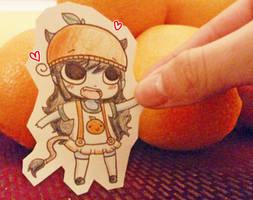 Lilith Likes Oranges by HannahFreakinBanana