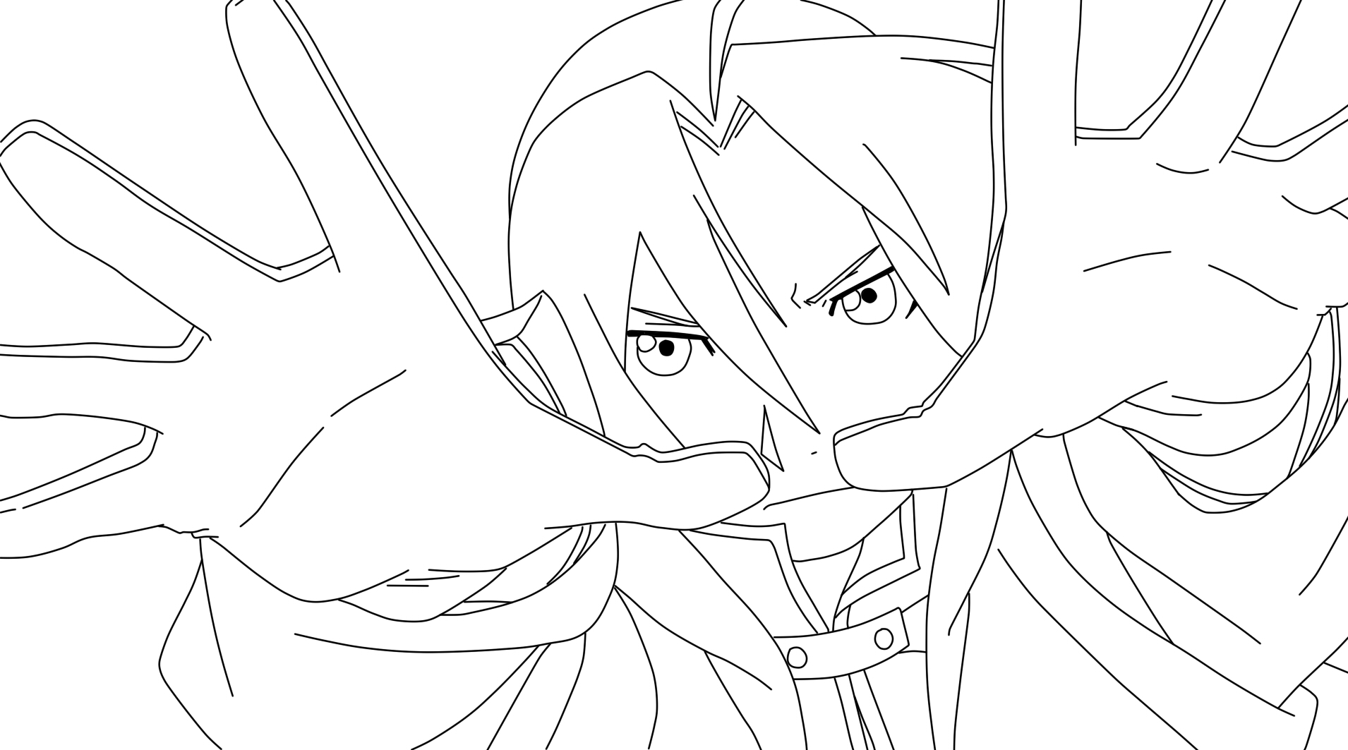 Line Art Anime : Lineart edward elric by fresh anime on deviantart