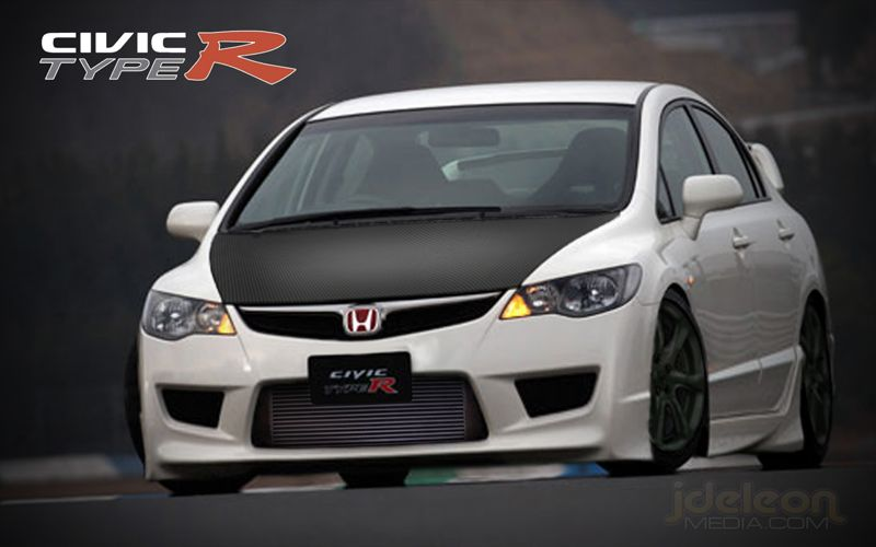 2008 honda civic type r by jdeleon721 on deviantart. Black Bedroom Furniture Sets. Home Design Ideas