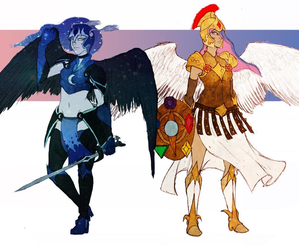 MLP - Two Regal Sisters by redblacktac