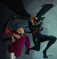 HS -  The Prince vs The Slayer by redblacktac