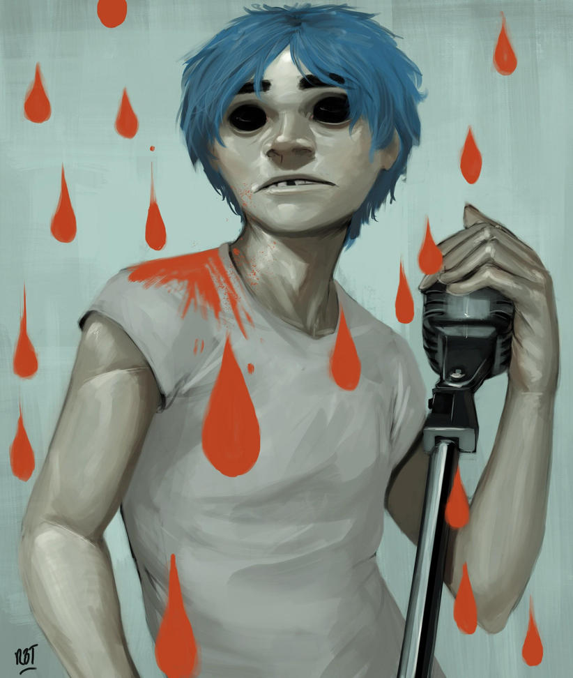 2-D by redblacktac
