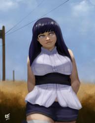 Hinata Hyuga by redblacktac