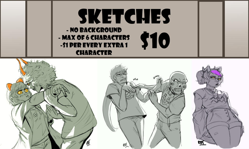 Ikecomsketches by redblacktac