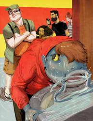 Water Hog by redblacktac