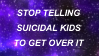 Suicidal Kids Stamp by CrunchDogs