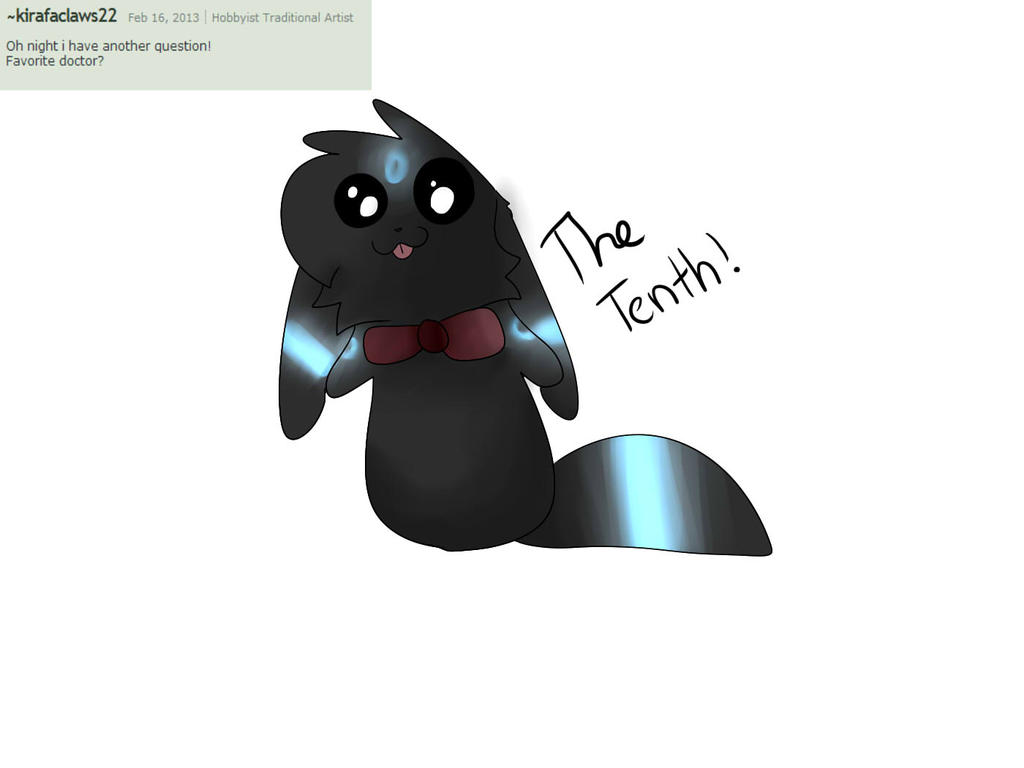 Question 18# The life of a Whovian by Ask-Night-Umbreon on DeviantArt
