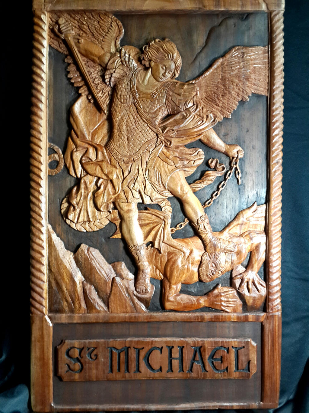 Saint Michael Arcangel by Arelychan