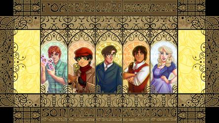 Decimation Comic Cast - Full Version by RoseyRoseyMae
