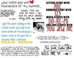 Cute Love Quotes by FatBat1